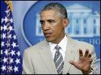 Obama y Merkel culpan a Rusia de la violencia en Ucrania