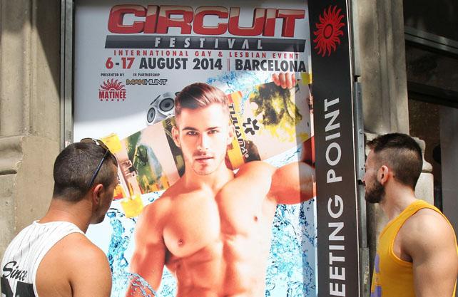 Más de 71.000 personas, la mayoría extranjeros, participarán en las actividades de ocio integral del Circuit Festival.