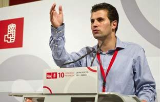 """Luis Tudanca: """"Quien no entienda que llega un<br> tiempo nuevo a la política<br> no ha aprendido nada"""""""