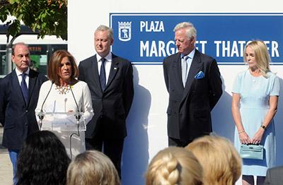 Madrid inaugura la primera plaza de Margaret Thatcher fuera del Reino Unido..... ¿ Esto se en serio ??? 1410785299943thatcherdn