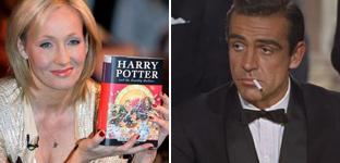 '007' vs Harry Potter: división entre los famosos