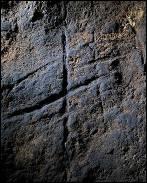 Un grabado hallado en una cueva de Gibraltar muestra la expresión abstracta de los neandertales