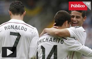 El Madrid de Cristiano tritura a un débil Deportivo con 8 goles