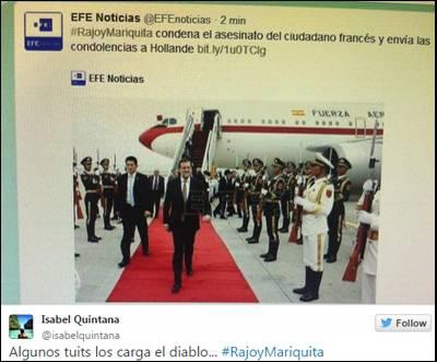 Captura de la cuenta de uno de los tuiteros que se ha hecho eco del polémico hashtag.