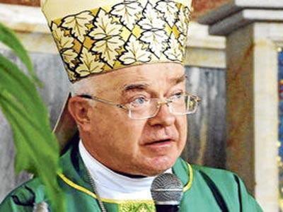 El exarzobispo polaco Jozef Wesolowski.