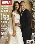 George Clooney y Amal Alamuddin, la primera imagen de su boda