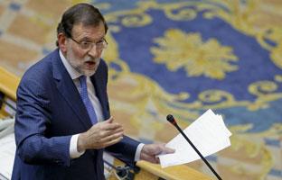 """Rajoy a CiU: """"Escocia no tiene la mitad de la mitad de competencias que Catalunya"""""""