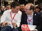 Sánchez e Iceta blindan a PSOE y PSC del conflicto de Catalunya
