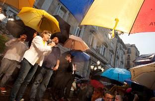 Clamor catalán en favor de la consulta
