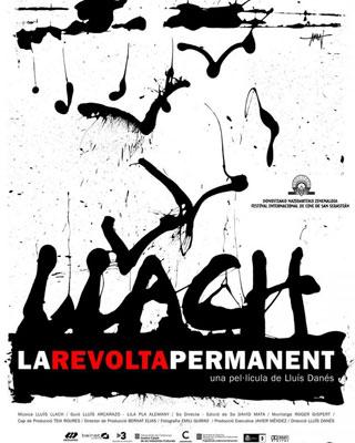 Cartel del documental 'Llach: La revolta permanent'.