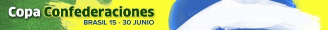Copa Confederaciones 2013 | Brasil 15 - 30 de Junio