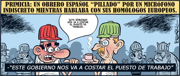 Viñeta de Vergara para Público, el 31 de enero de 2012